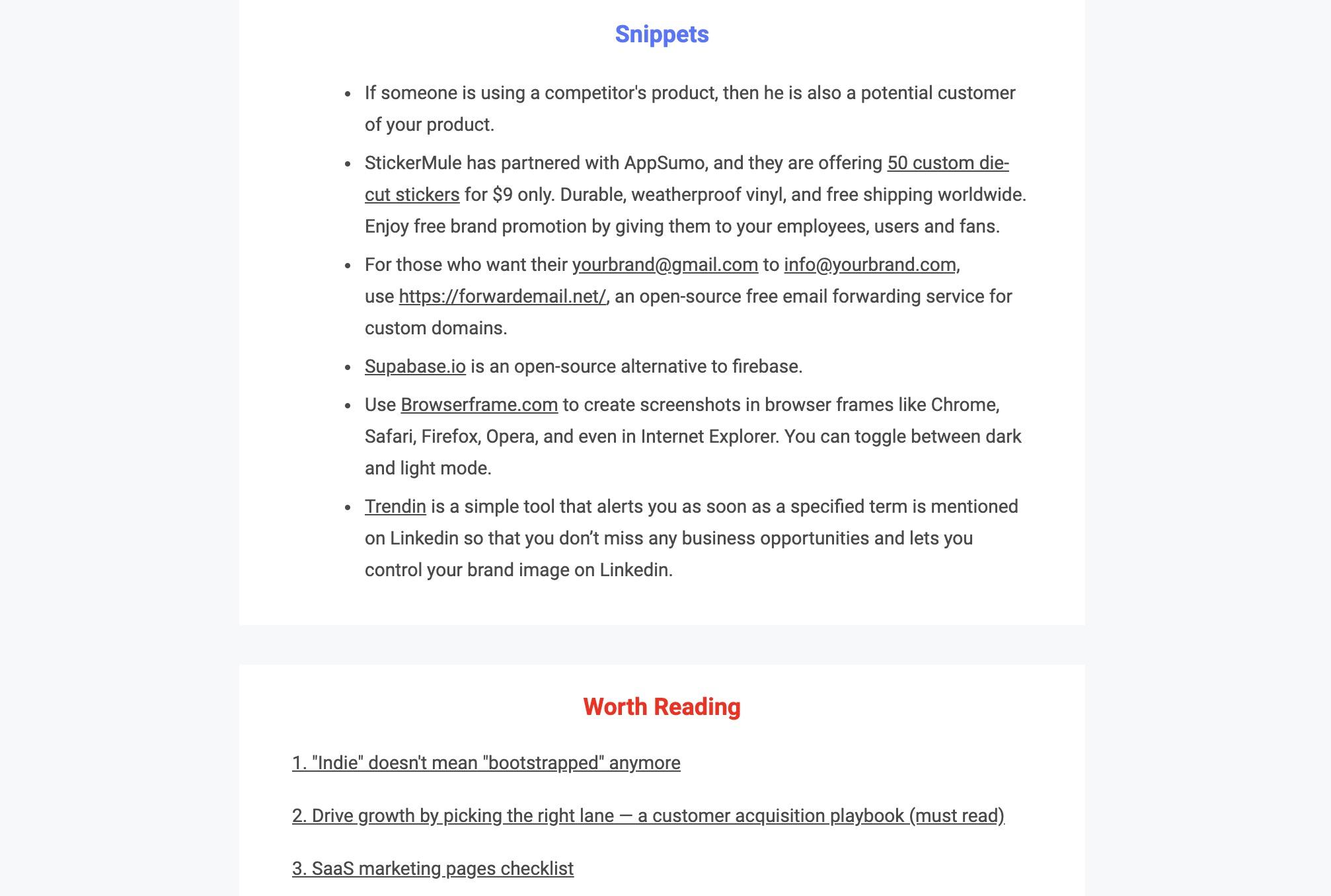 IndieLettersNewsletter