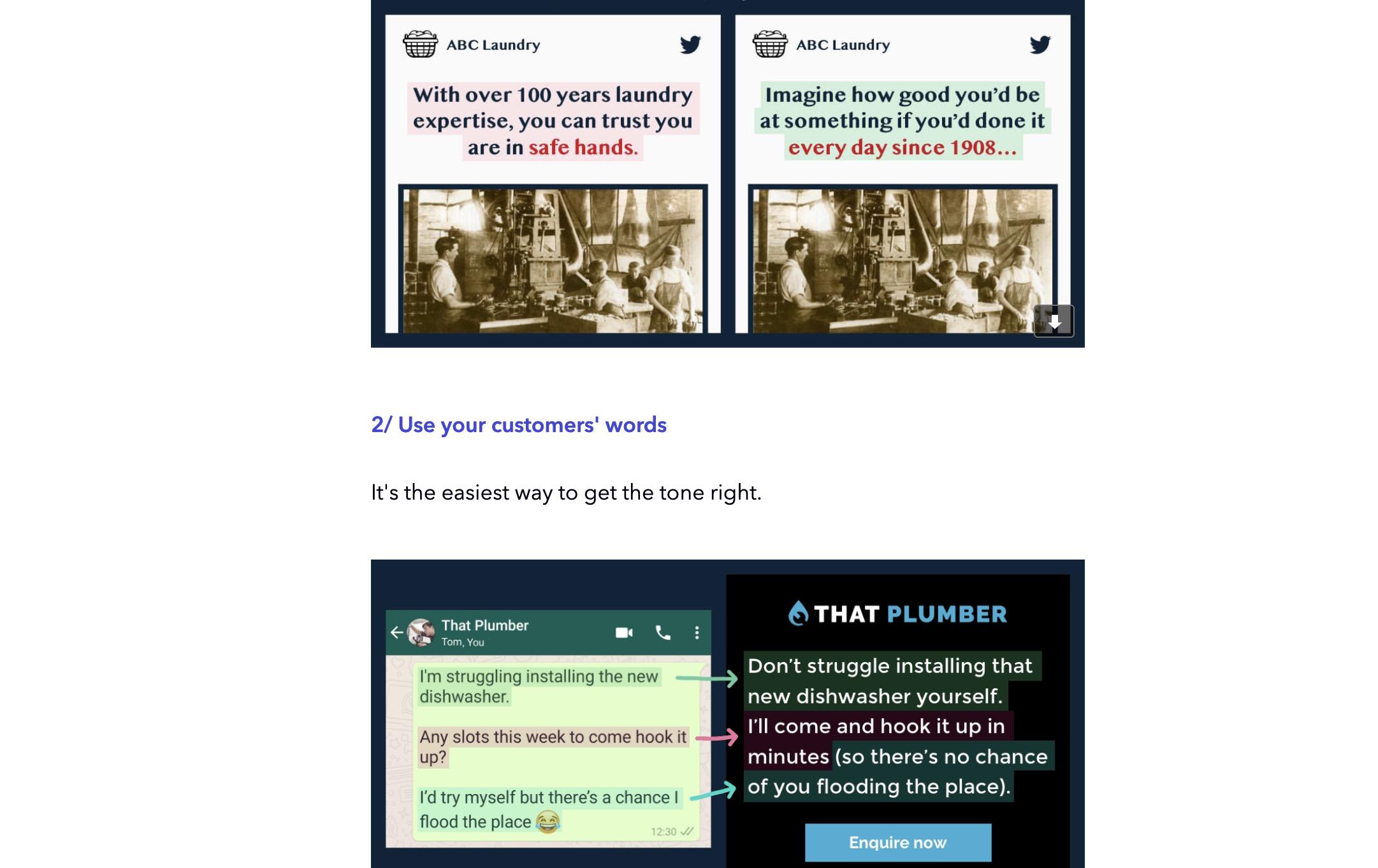 MarketingExamplesNewsletter